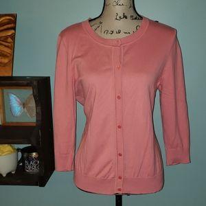 Talbots Petites Button Down Cardigan Sweater